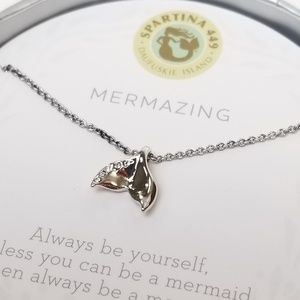 Spartina La Vie Mermaid Tail Necklace